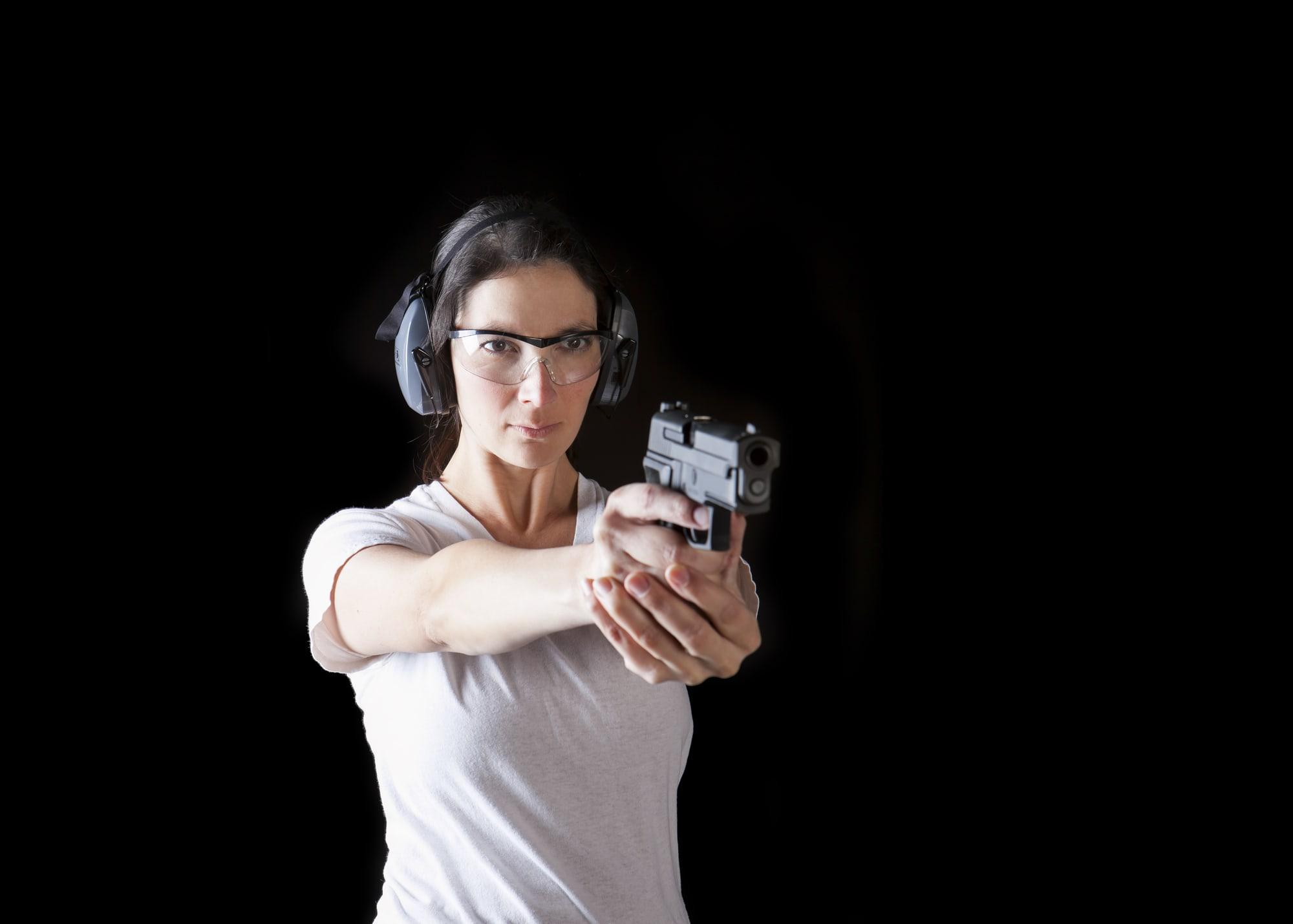 two gun tactical ladies only shooting class